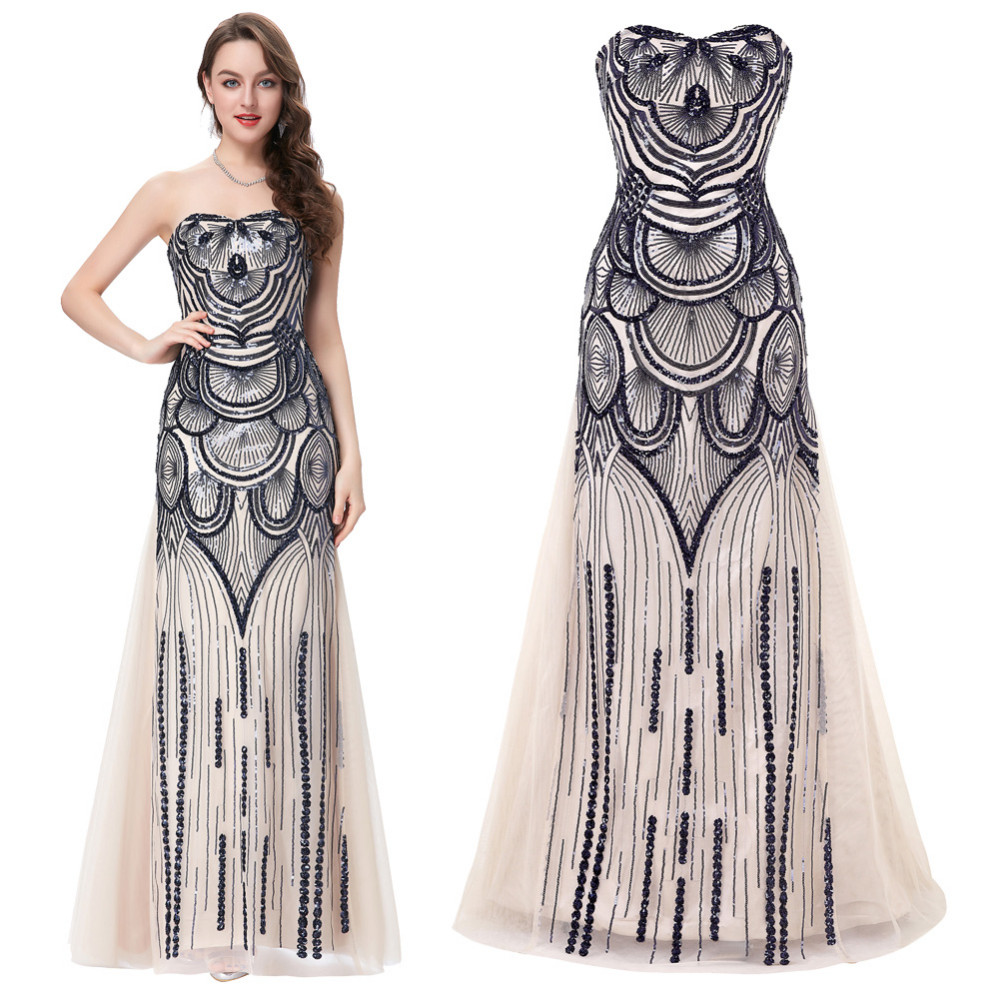 HTB1CNzNKFXXXXa8apXXq6xXFXXXPStrapless Special Occasion Dress