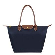 Mode Frauen Taschen Falten Schulter Wasserdichte Oxford Handtaschen Knödel Weiblich Reise Tote Folding Tasche Tote Paris Tasche