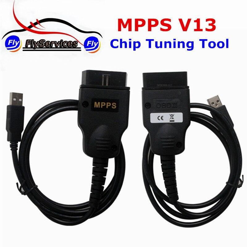 Лидер продаж SMPS MPPS V13 ECU чип-тюнинг инструмент для EDC15 EDC16 EDC17 нескольких языков Быстрая доставка