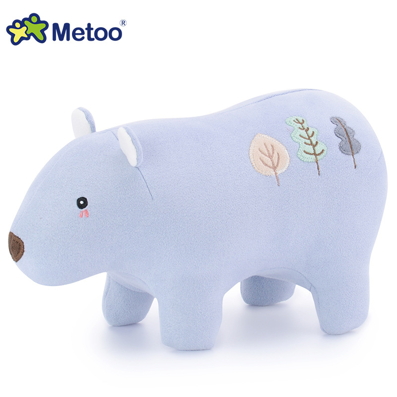 Sweet Cute Polar Bear Kawaii Plush Stuffed Animal Cartoon Kids Toys for Girls Children Baby Birthday Christmas Gift Metoo Doll 13 inch kawaii plush soft stuffed animals baby kids toys for girls children birthday christmas gift angela rabbit metoo doll