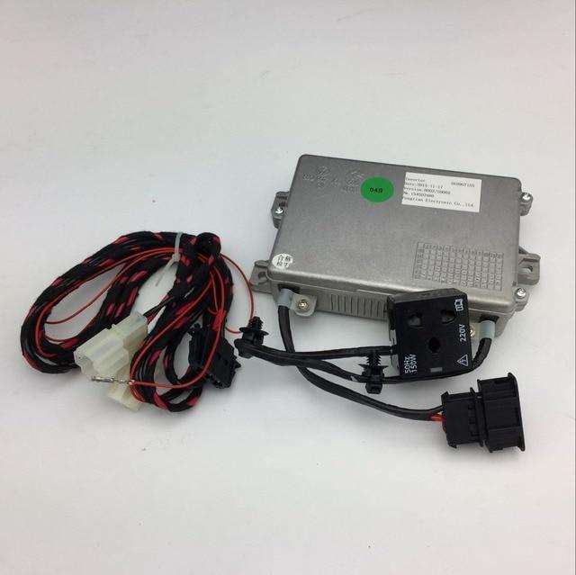 Para VW Passat B7 Tiguan Apoyabrazos Caja Transformador Inversor 56D 907 155