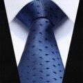 "TZP15B6 Blue Black Paisley Slim Narrow 2.6"" 100% Natural Silk Men Tie Necktie"