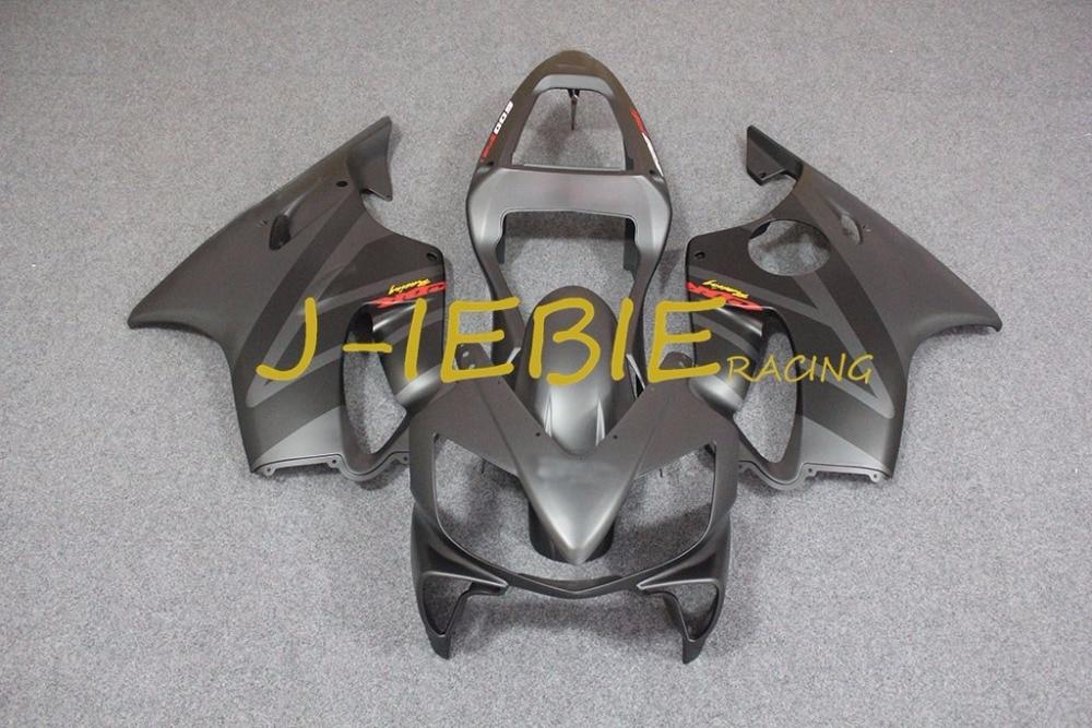 Gray Injection Fairing Body Work Frame Kit for HONDA CBR600 CBR 600 CBR600F F4I 2001 2002 2003