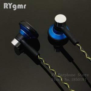 Image 5 - RY04 オリジナル in 耳イヤホン金属 15 ミリメートル音楽音質 HIFI イヤホン (IE800 スタイルケーブル) 3.5 ミリメートルステレオインナーイヤー型ヘッドフォン