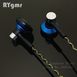 Image 5 - RY04 original in ear Earphone metal  15mm music  quality sound HIFI Earphone (IE800 style cable) 3.5mm stereo earbud headphones