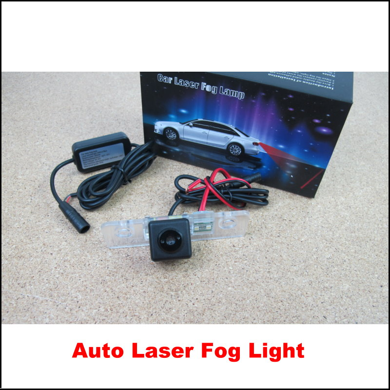 Car Rear Laser Light Anti-Fog Lamps / Automotive Collision Warning Lights For Ford Mustang GT CS 2005~2014