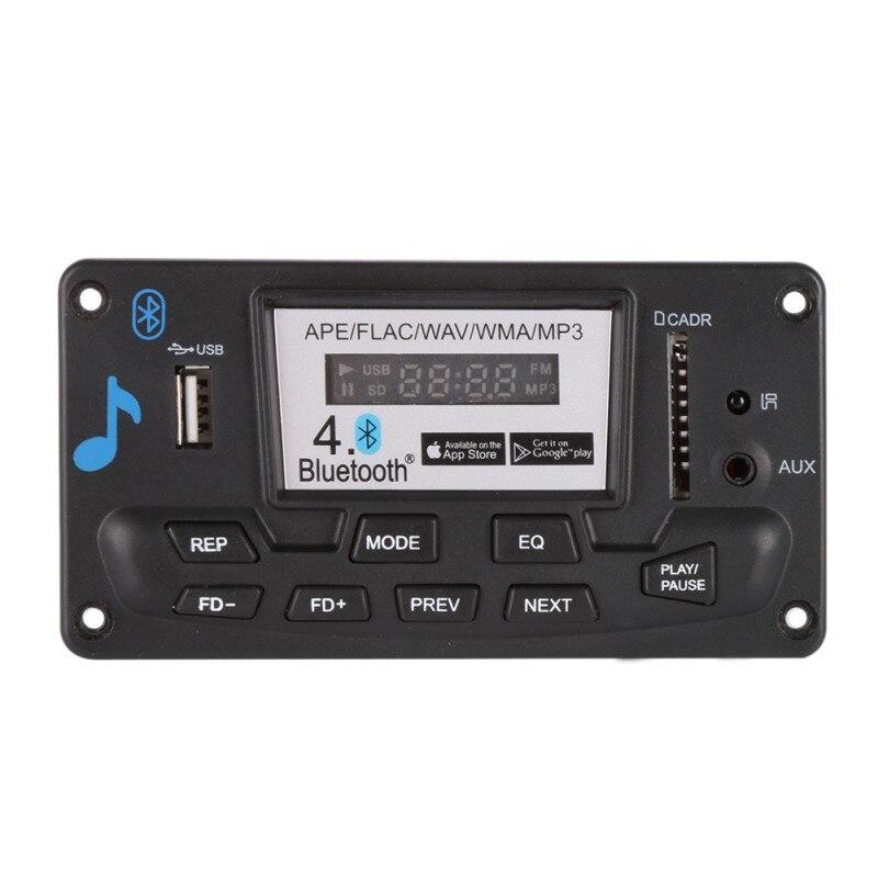 Decoding Board Module Bluetooth MP3 LED 12V DIY USB/SD/MMC APE FLAC WAV DAE Deco