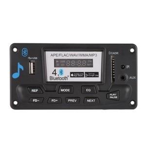 Płyta modułu dekodującego Bluetooth MP3 LED 12V DIY USB/SD/MMC ape flac WAV DAE dekoder rekord odtwarzacz MP3 AUX FM foldery przełącznik