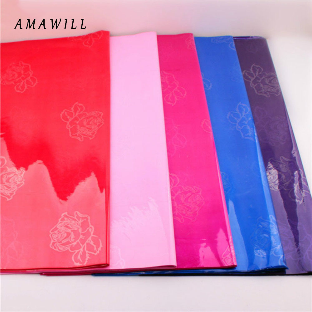 AMAWILL Wedding Gift Flowers Cellophane Roll Bouquet