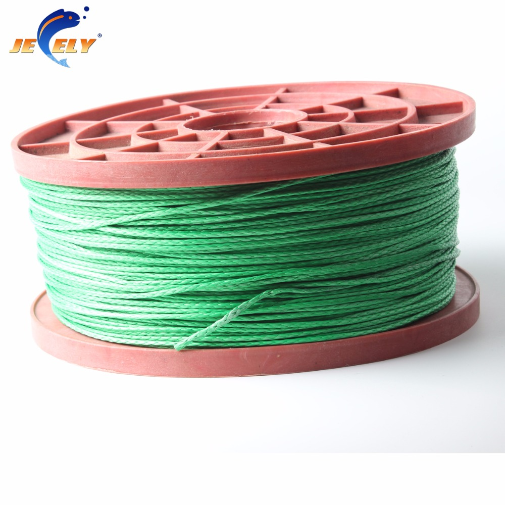 Free Shipping 100m 100kg 16 strand 1.2mm uhmwpe fiber braid hollow Fishing Rope Stunt Kite Line White Color free shipping 500m 4250lb sailboat rope extreme strong 4 5mm uhmwpe braided wire