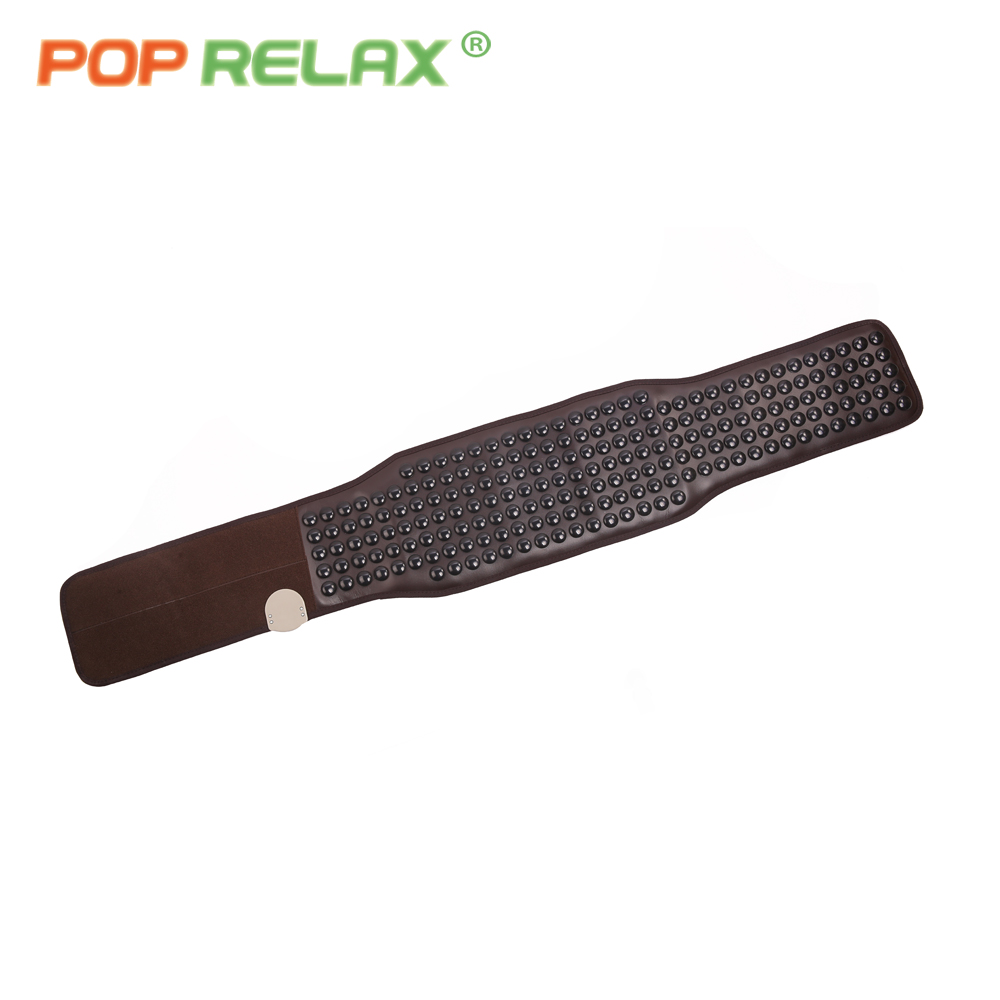 все цены на POP RELAX Korea tourmaline germanium sauna waist stone belt physiotherapy health care back pain relief thermal foot massage mat