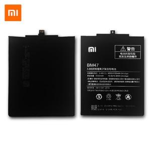Image 2 - XiaoMi BM47 orijinal cep telefonu pil Xiaomi Redmi 3 S için yedek 4000mAh kapasiteli pil Redmi 3X Hongmi 3 S