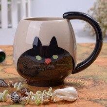 YEFINE Marke Niedlichen Tier Muster Design Keramik Tassen Und becher Kaffeetasse Mini Schwein/Bär Katze/Frosch 4 Designs Wasser Tassen Großhandel