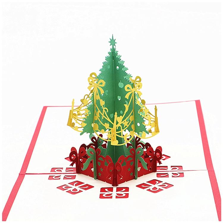 Aliexpress.com : Buy 2 Pack Christmas Pop Up Cards