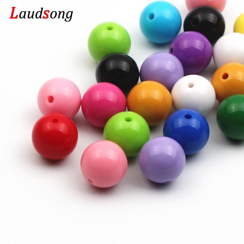 6 pcs x Brown Lustre Acrylic Beads Brown16 Twist