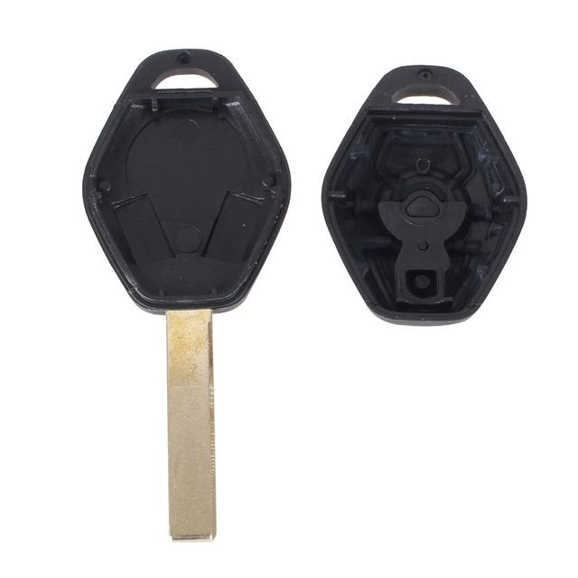 KEYYOU Key Remote Fob Case Replacement Car Key Shell Cover Keyless Fob For BMW 1 3 5 6 7 Series X3 X5 Z3 Z4