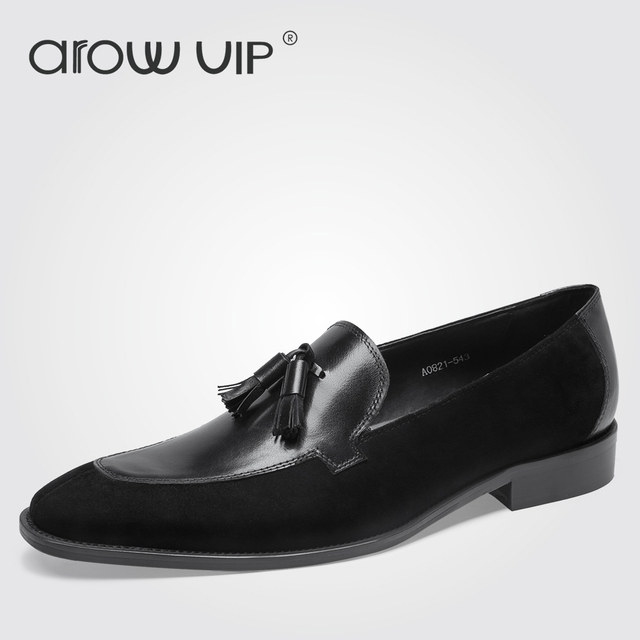 AROW VIP Men's Genuine Leather Loafers
