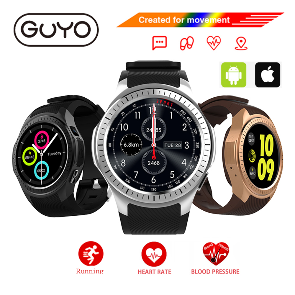 Smart Watch IOS Android Phone Call Compatible with Smartwatch GPS Bluetooth SIM TF Camera Heart Rate Monitor For Android IOS 2017 new gps smart watch sport waterproof heart rate monitor dial call 2g sim card all compatible smartwatch for android ios