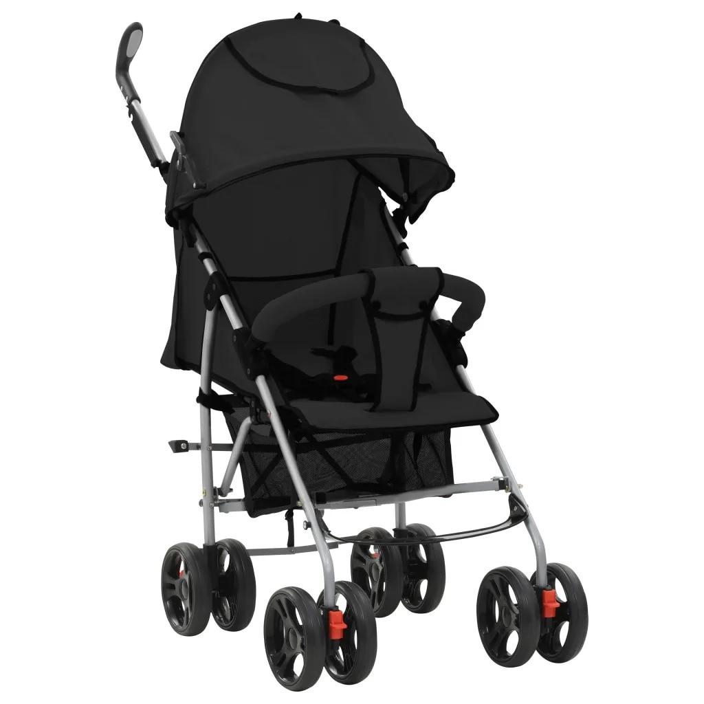 vidaXL baby stroller Portable Folding comfortable 2-in-1 baby Stroller Lightweight Pram Baby Carriage sturdy baby strollervidaXL baby stroller Portable Folding comfortable 2-in-1 baby Stroller Lightweight Pram Baby Carriage sturdy baby stroller