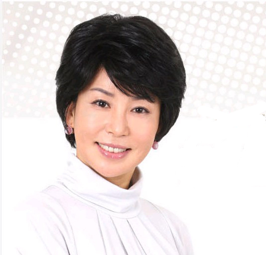 Real hair wig fashion wig old-age wifing quinquagenarian women's wig