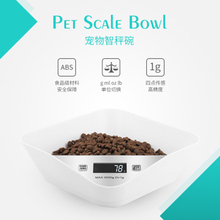 цена на OUYXR  Plastic Intelligent Weight System Of Pet Dog Bowls Antibacterial Feeder For Pet Cats Puppy Washable  Portable Bowl
