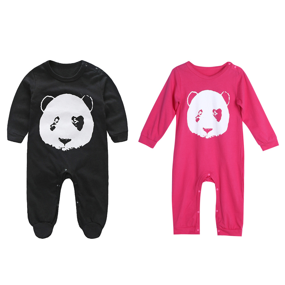 Baby Romper Panda Baby Infant Baby Cotton Long Sleeve Rompers Clothes Set Newborn Boys Girls Clothes Jumpsuit cotton baby rompers set newborn clothes baby clothing boys girls cartoon jumpsuits long sleeve overalls coveralls autumn winter