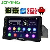 JOYING PX5 4GB RAM 32GB ROM 1din 7 Android Car Radio Stereo GPS Audio Octa Core