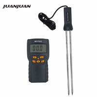 10pcs by dhl fedex MD7822 Grains Moisture Meter Humidity Tester for Rice Corn Wheat Coffee Bean Wet Hygrometer 10%Off