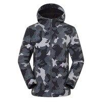 Men 's Winter Fleece Softshell Jacket Outdoor Sports Tectop Coats Hiking Camping