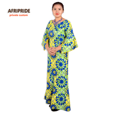 Afripride Classic African Two Piece Suit for Women Traditional Style Top Ankle Length Skirt Women Casual