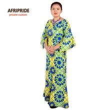 New african robes pour femmes deux-pièce costume africain traditionnel vêtements styles robe femmes imprimer coton cire plus la taille A632603