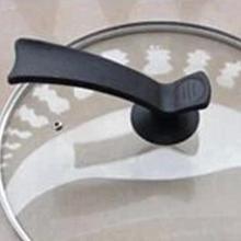 15,5 см Универсальный пластиковый горшок ручки для крышки Замена подставки вок крышка крышки рукоятки захвата крышки для кухонной посуды держатель сковороды крышка ручки рукоятки
