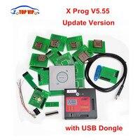 2017 Newest XPROG V5 55 Updated Version X Prog 5 55 ECU Programmer With USB Dongle