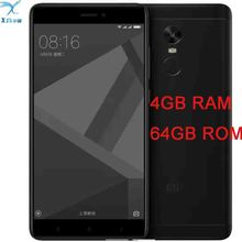 "freeshipping  Original Xiaomi Redmi note 4X pro 4GB 64GB  MTK Helio X20 Deca Core 5.5 "" 1080P MIUI 8 Fingerprint ID mobilephone (China)"