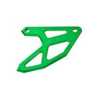 CNC Billet Rear Brake Disc Guard Potector For Kawasaki KX125 KX250 KX250F KX450F KLX450R Green