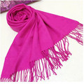 Sexy Women Girls Cashmere Blend Scarves Solid Shawl Creative Tassel Scraf Autumn Winter Outdoor Riding Wrap Hijabs 16 color 2016