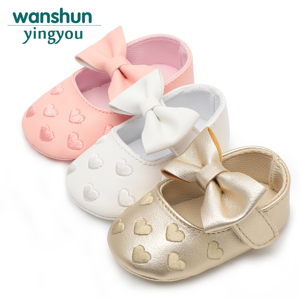 1919f72f595e6 Bebe PU Leather Baby Boy Girl Baby Moccasins Moccs Shoes Bow Fringe Soft  Soled Non-slip Footwear Crib Shoes