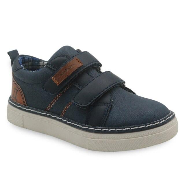 Apakowa/детская повседневная обувь для мальчиков, однотонная дышащая удобная обувь для мальчиков, кроссовки на резиновой подошве, мягкие детская школьная обувь, размер 26-31
