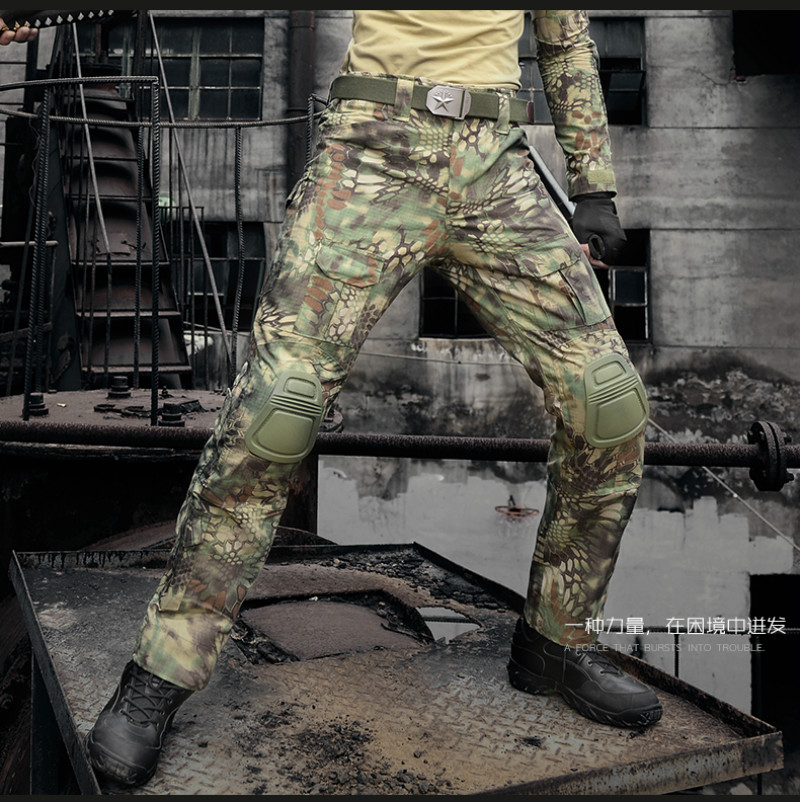 Tactical Cargo Pant  Military Camouflage Pant  Hombre Outdoor Training Combat Trouser Men Climbing Hunting Pants Knee Pads tactical airsoft paintball combat pants with knee pads soldier trainer outdoor sport survival field game trouser free shipping