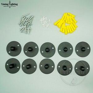 Image 1 - Rosone in metallo Base Piastra di Montaggio Supporto di Montaggio Luce Lampadario Lampadina Piccolo Mini Per Sprider Accessori FAI DA TE