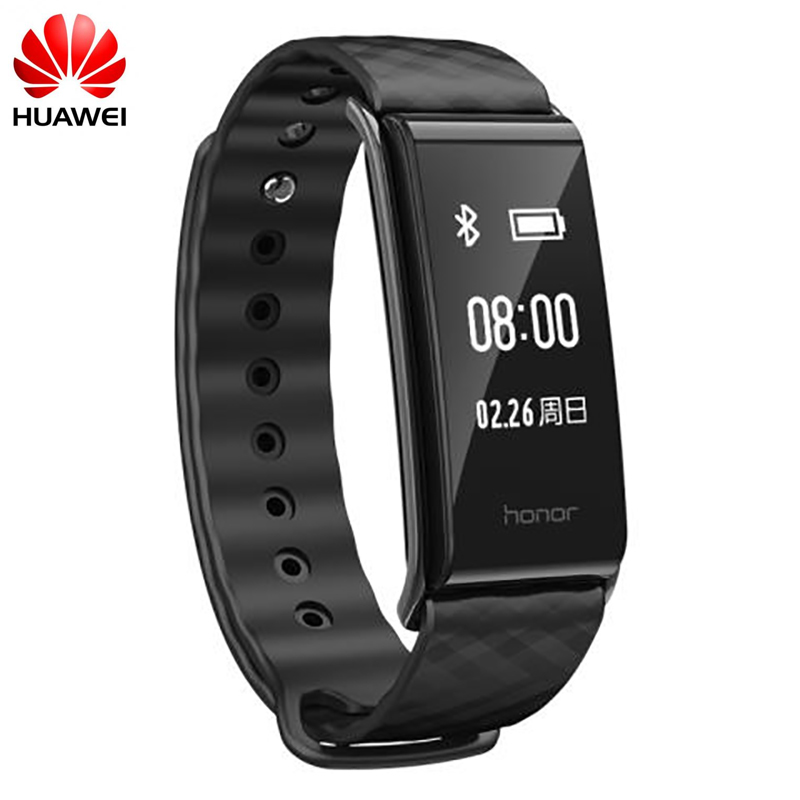 HUAWEI Band A2 Wristband Strap 0.96 OLED Screen Sleep Heart Rate Monitor Bracelet Fitness Tracker Show Message End Call IP67 huawei honor a2 smart wristband 0 96 oled screen heart rate monitor show message end call ip67 glory play bracelet a2