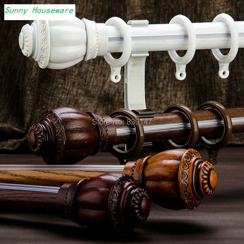 Popular Curtain Poles Wood Buy Cheap Lots From