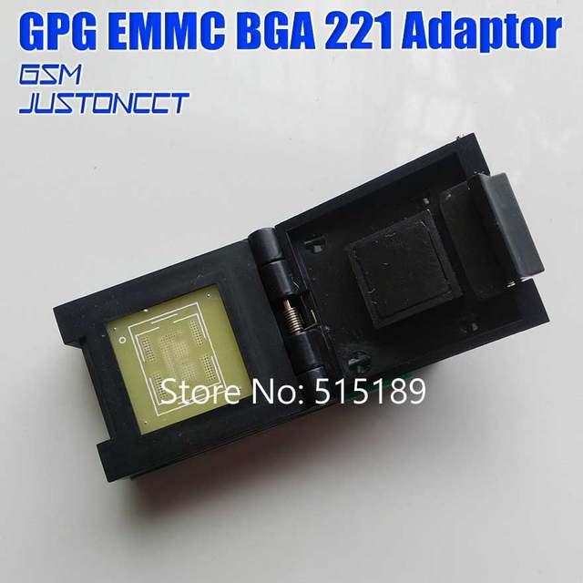 E-SOCKET SAM TP BGA 221 support repair SAM emmc chips fw work with JTAG ATF  box