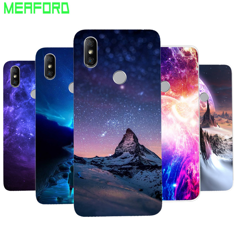 Silicone Case For Xiaomi Redmi Note 5 Phone Case Soft Space Art Print Back Cover For Xiomi Redmi Note 5 Note5 Pro Clear bumper