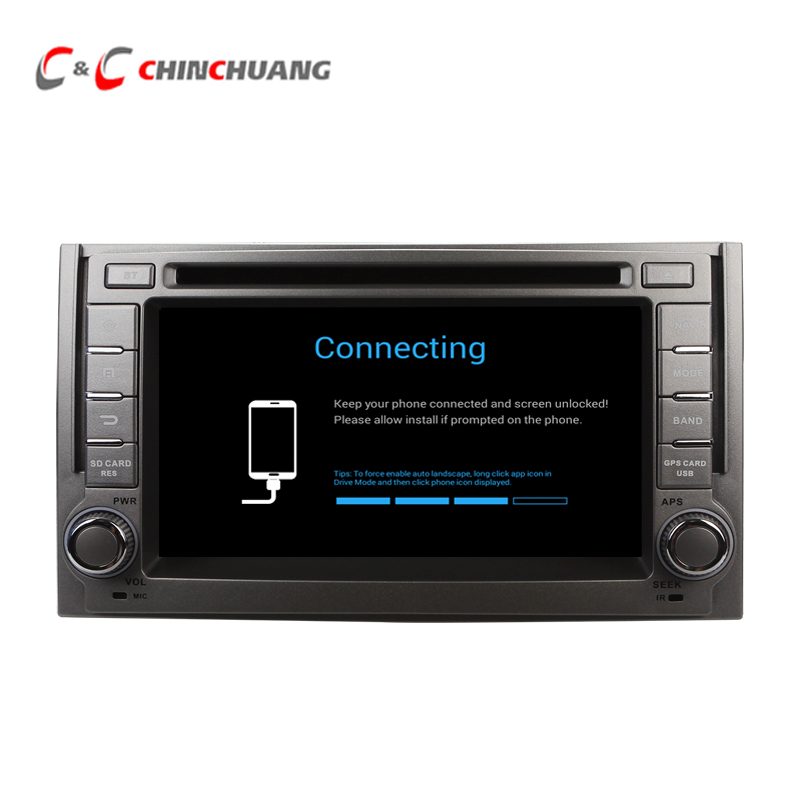 Upgraded  1024 600 Android 7 1 Car DVD Player GPS for Hyundai H1 Grand Starex