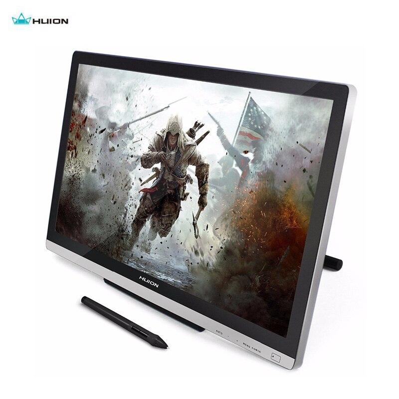 Huion GT220 numérique tablette moniteur 21.5 IPS moniteur nouvellement conçu écran tactile stylo pour victoires gratuit protecteur gant adaptateur cadeaux