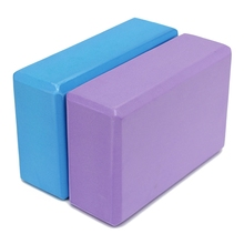 EVA Yoga Pilates Blocks Bricks Foaming Foam Stretch Home Exercise Fitness Sports Health Gym Practice Tool 22.5×14.8×7.8cm