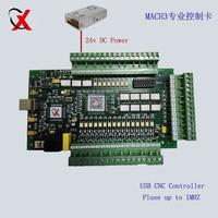 E CUT upgrade 3Axis USB CNC Mach3 Controller Card Interface Breakout Board 1000KHZ