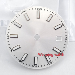 Image 3 - 29 mm Series Dial diameter size Watch part watch face miyota 8215 821A mingzhu 2813 3804 automatic movement P868