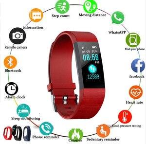 Image 1 - New thể thao vòng đeo tay thông minh không thấm nước máy đo huyết áp vòng đeo tay thông minh tập thể dục tracker pedometer thông minh vòng đeo tay thông minh PK của tôi ban nhạc